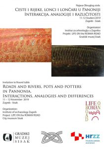 Plakat life on the roman road